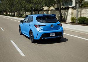 2019 Toyota Corolla Hatchback Xse Road Test By Dan Jedlicka