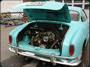 1956 74 Volkswagen Karmann Ghia History By Dan Jedlicka