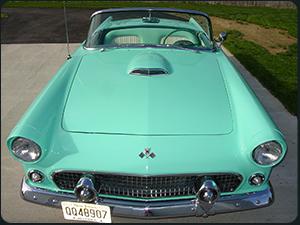 1955 57 Ford Thunderbird History By Dan Jedlicka